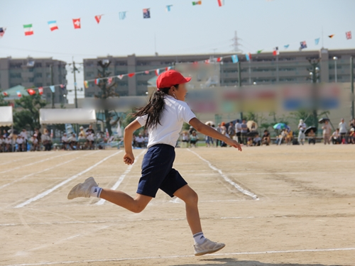 小学生 徒競走