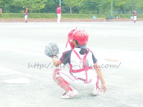 ソフトボール キャッチャー
