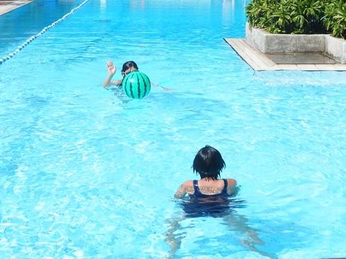 水着 プール