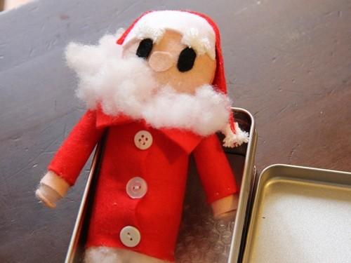 サンタさんのマスコット
