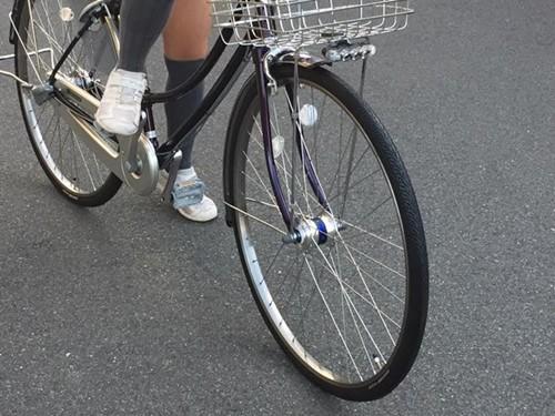 中学校通学用の自転車