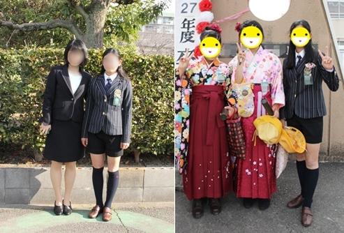 小学校 卒業式 袴 スーツ