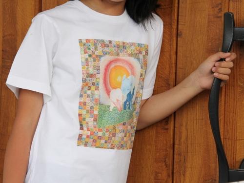 ふかさかみなみ「幸福」 Tシャツ