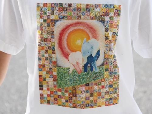 ふかさかみなみ「幸福」Tシャツ