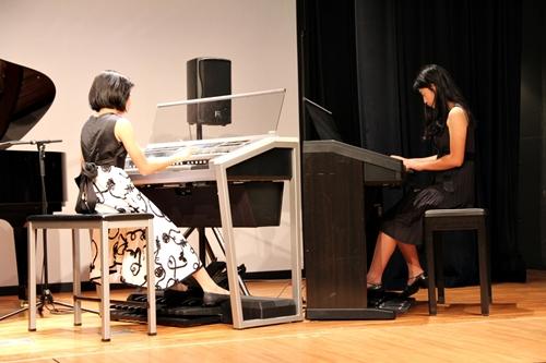 ピアノ発表会 アンサンブル