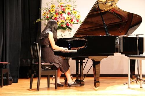 ピアノ発表会 長女の演奏