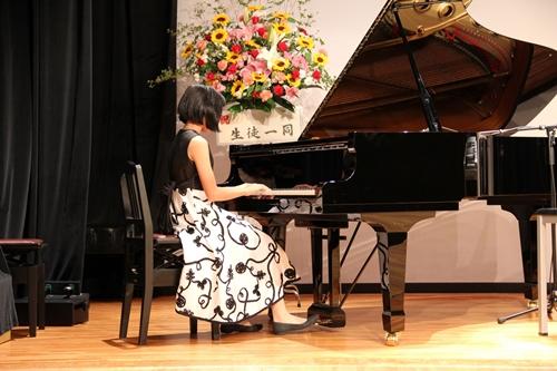 ピアノ発表会 次女の演奏